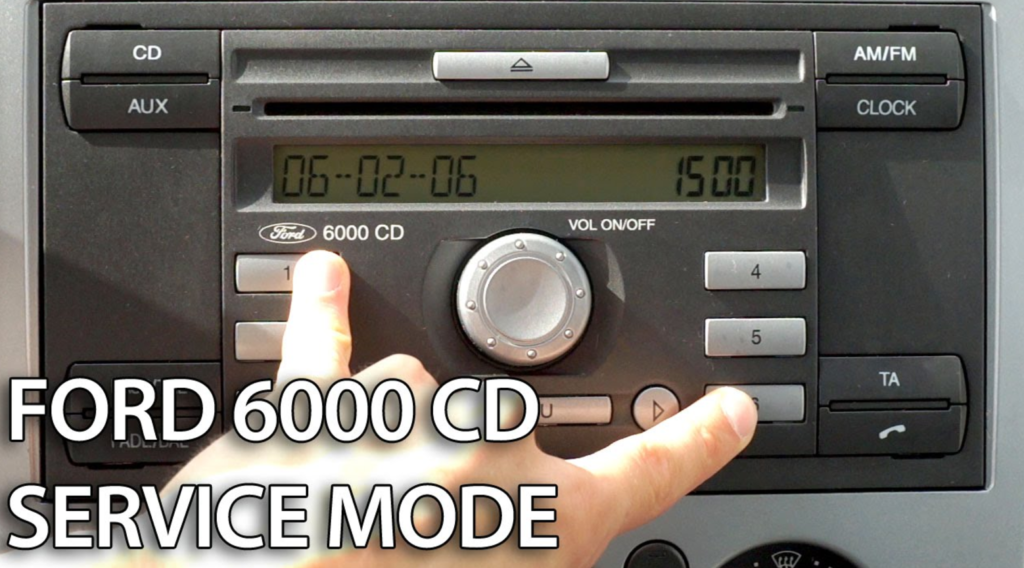 Ford 6000 cd code