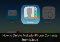 how to delete multiple contacts on iphone 5 free