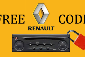 Renault Radio Just Says Code
