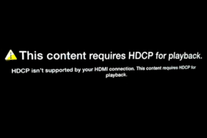 Facing HDCP Error on Your Apple TV