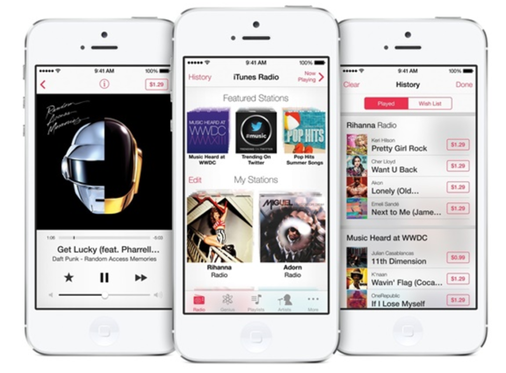 launch iTunes on iPhone