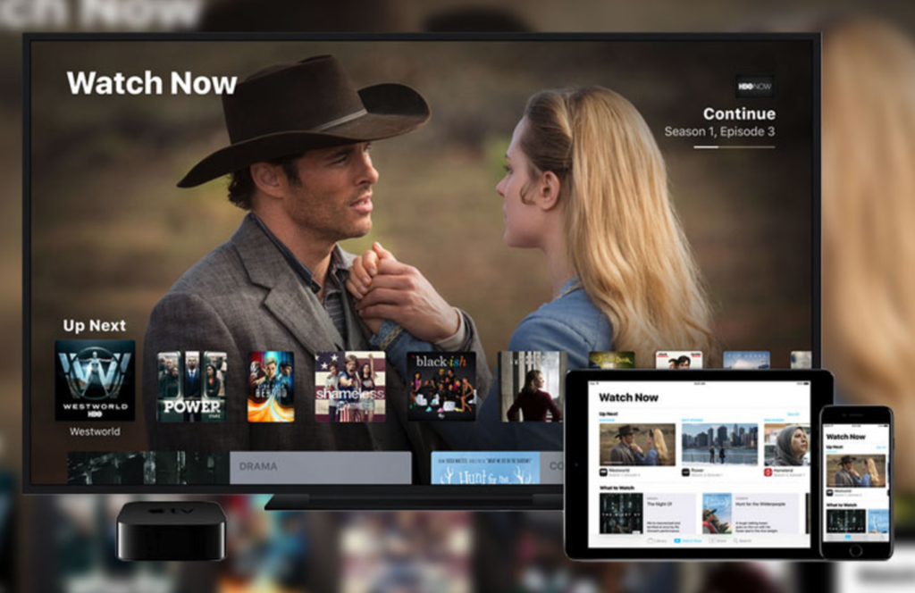 TV App on Apple TV and iPhone