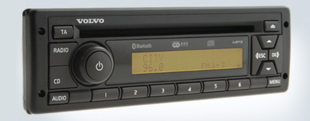 Volvo stereo codes