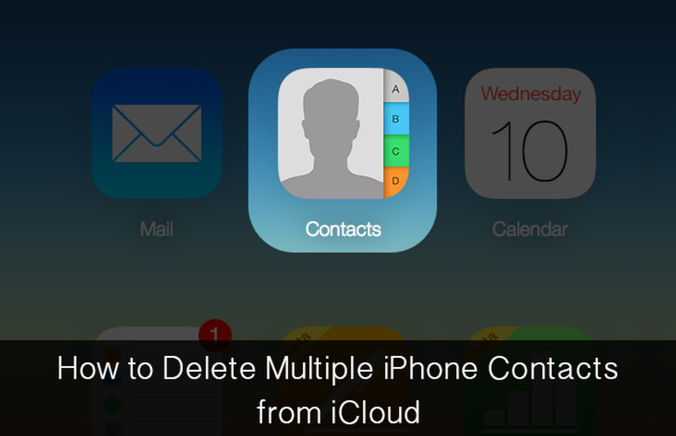 how to delete contacts on iphone how to delete contacts on your iphone via icloud 1889