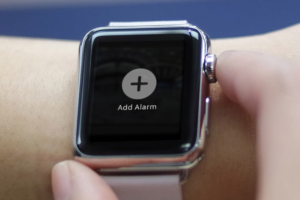 Create Alarm on Apple Watch