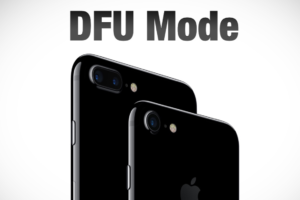 How To Put iPhone or iPad in DFU mode