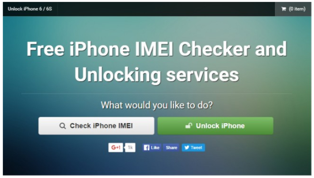 IMEI Checker by iPhoneIMEI