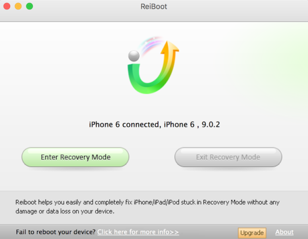 ReiBoot Exit Recovery Mode